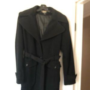DKNY Black Trench Coat